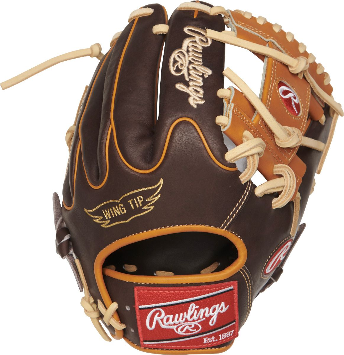 "Rawlings Heart of the Hide PRO205W-2CH 11.75""  Size Chart"