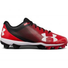 UA Leadoff Low RM Black/Red Size 10