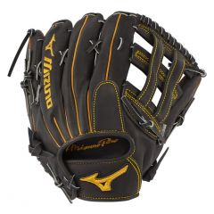 "Mizuno Pro Outfield Baseball Glove  GMP2BK-700DH 12.75"" - Deep Pocket"