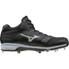Mizuno Dominant IC Mid Metal Baseball Cleats