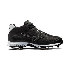 Mizuno 9-Spike Dominant 2 Mens Metal Mid Baseball Cleat