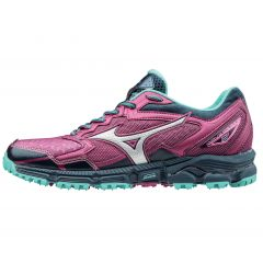 Mizuno Wave Daichi 2 Womens Turf Beetroot/Silver 8