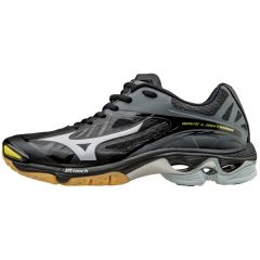 Mizuno Women's Wave Lightning Z2 Shoes- Black-Silver sz 10.5