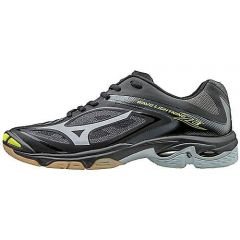 Mizuno Women's Wave Lightning Z3 Shoes- Black-Silver sz 10