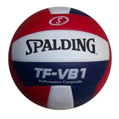 Spalding TF - VB1 Composite Volleyball - Red/White/Blue - Clearance