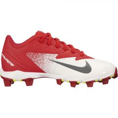 Nike Vapor Ultrafly Keystone Youth Cleat Red/Crimson/White 1.5Y