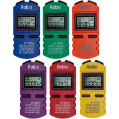 Robic SC-505W  6-Pack Stopwatches