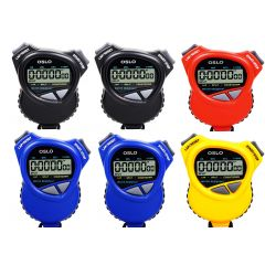 Robic  Oslo 100W 6-Pack Stopwatches