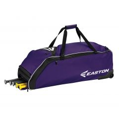 Easton E610W Wheeled Bag Purple