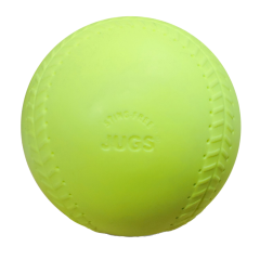 "Jugs Sting Free Seamed Optic 12"" Softballs-Dozen"