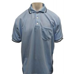 Darby Blank Powder Blue Umpire Shirt