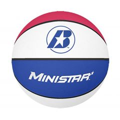 Baden Mini Star - Red/White/Blue - size 3 - Basketball