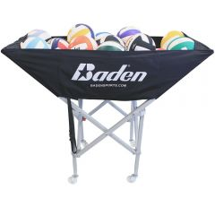 Baden Premier Volleyball Cart - Black