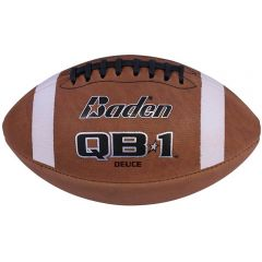 Baden Deuce Series Leather Game Ball - Official Size