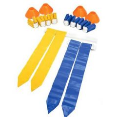 SKLZ Deluxe Flag Football Set (10 Man Set with Cones)