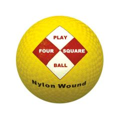 360 Four Square Rubber Playball