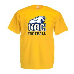 UBC Football Gold Tee