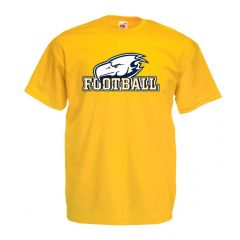 UBC Football Bird Logo Gold Tee