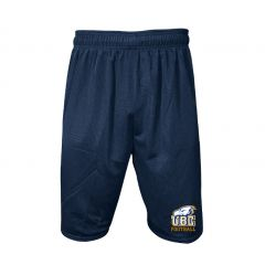 """UBC Russell Men's  9"""" Tricot Mesh Shorts"""