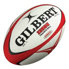 Gilbert Zenon Training Ball - Black/Red - Size 5