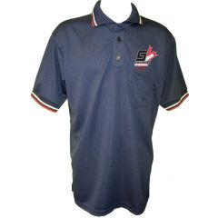 Softball Canada Navy Umpire Shirt- Old Logo