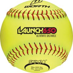 Worth Launch L650Y Softballs