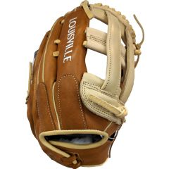 Louisville Super Z Slowpitch Tan/Cream/Wht 15""