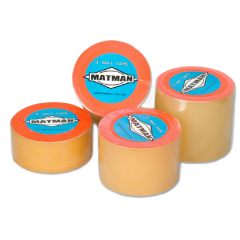 Matman Transparent Vinyl Mat Tape - 4""