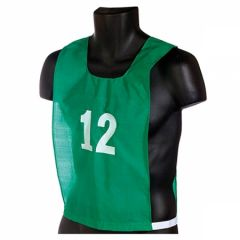 360 Numbered Adult Nylon Pinnies - Set of 12