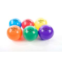 "360 Softex Vinyl Playballs - 8""  Prepack (6) - Elem Skill & Develop"