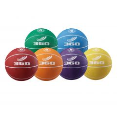 360 Playground Rubber Basketball - size 6