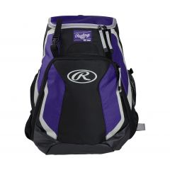 Rawlings R500 Player's Backpack Purple