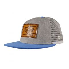 New Era Rawlings Leather Patch Heather/Royal