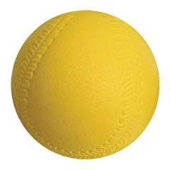 360 Coated Foam Softball - 12in  Yellow