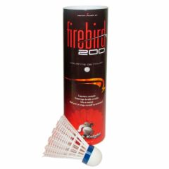 Black Knight Firebird 200 - Tube Of 6 - White