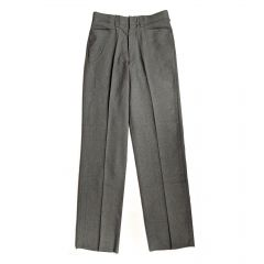 Smitty Flat Front Heather Grey Base Pant