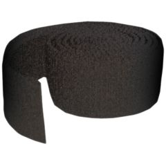 "Adams Shoulder Pad Elastic Strapping-1""-25 yard roll-Black"