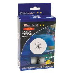 360 Athletics 2 Star Table Tennis Balls Pack (6)