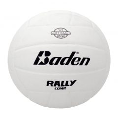 Baden Official RallyTM Soft Touch Volleyballl - White - Clearance