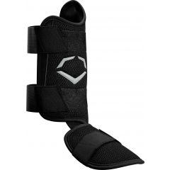 Evoshield PRO-SRZ Batter's Leg Guard Black Left Hand Hitter