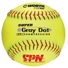 "Worth SPN 12"" Grey Dot"