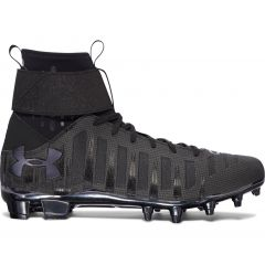 UA C1N MC Cam Newton Football Cleats Black/Black
