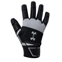 UA Combat Full Finger Lineman Football Gloves