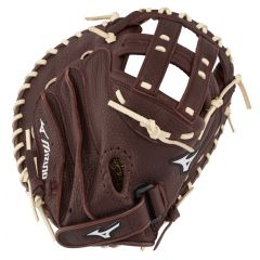 Mizuno Franchise Series Fastpitch Softball Catcher's Mitt GXS90F3 34""