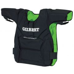 Gilbert Contact Top - Blk/Grn - Senior - Rugby