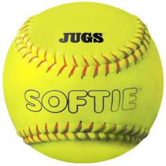 "Jugs Softie 12"" Optic Leather Practice Softball - Dz"