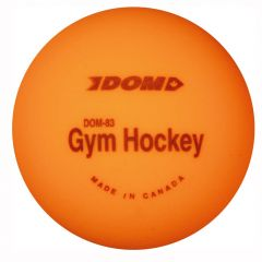 Dom Sports Gym Floor Hockey Ball - Orange