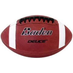 Baden Deuce Series Leather Game Ball - Youth Size