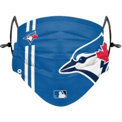 Foco MLB Blue Jays On-Field Pleated Face Cover