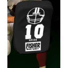 """Fisher Athletic Curved Shield 24""""x16""""x4"""" 3lbs"""